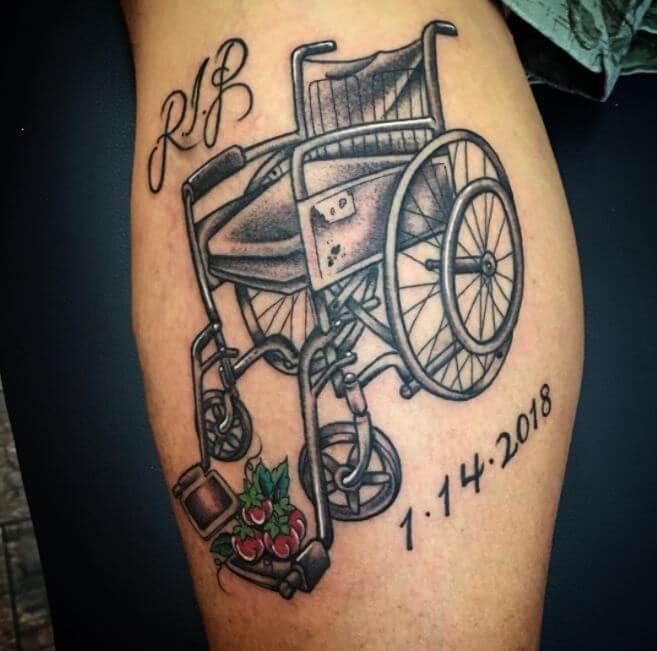 memorial tattoos grandma tattoo rip designs memory meaning grandparents parents tattoosboygirl heart heaven