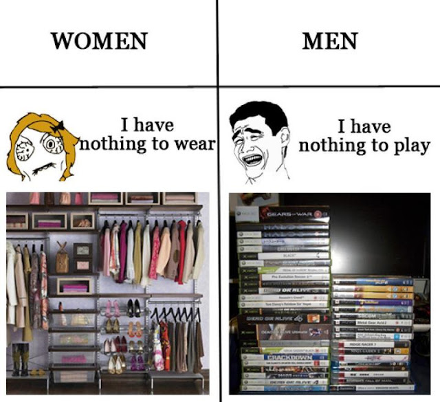 10 Funny Differences between Men and Women