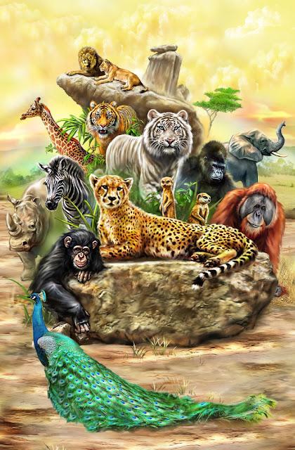 Tranh Động vật Độc Quyền