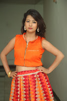 Shubhangi Bant in Orange Lehenga Choli Stunning Beauty ~  Exclusive Celebrities Galleries 070.JPG