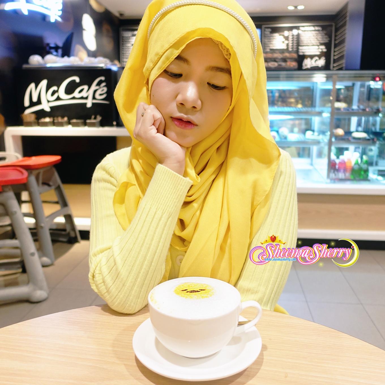 Gudetama in Hong Kong McDonald 2016 sanrio kawaii hijabi hijab muslim blogger sheema sherry fashion beauty