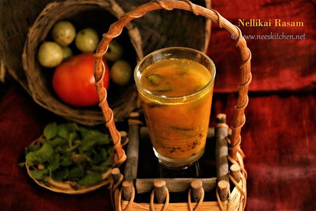 Nellikai Rasam | Gooseberry Soup | Amla Rasam