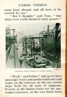 London Docks 1920s