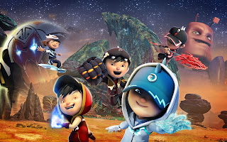 Boboiboy The Movie 2016 Pecah 5 Animasi Bergerak Gif