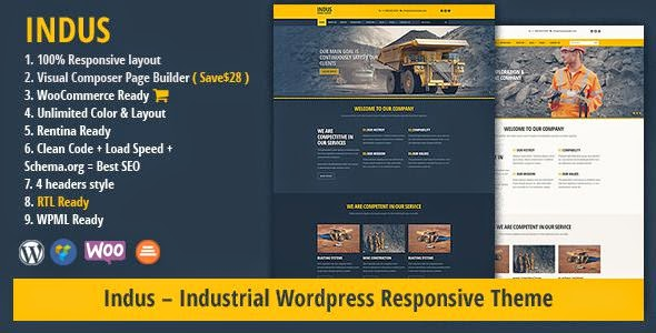 Free Business WordPress Theme 2017