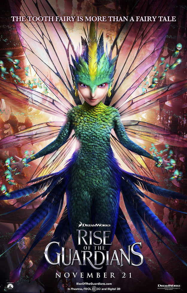Life In Technicolor Rise Of The Guardians New Character