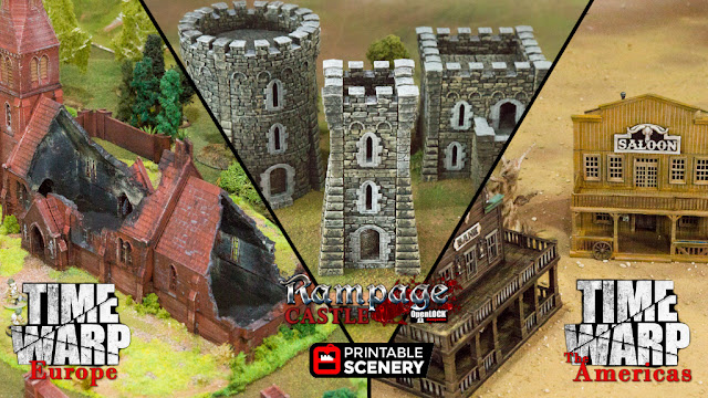 Printable Scenery - 3D Printable Wargame Miniature Terrain and Scenery