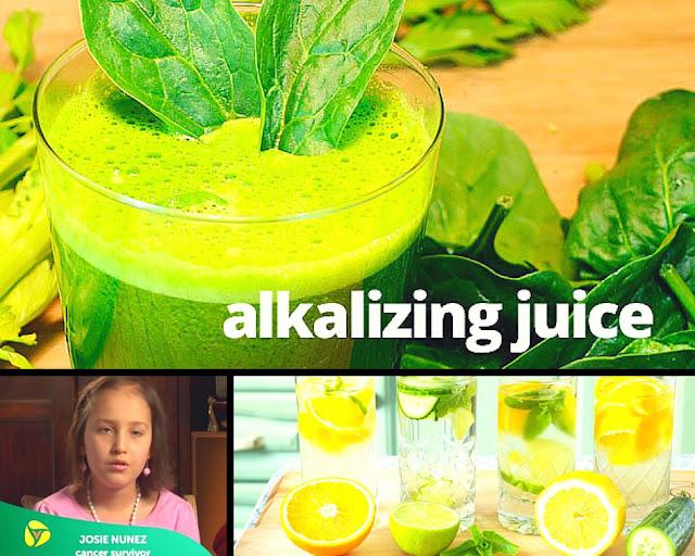 Kanker Stadium 4 Gadis ini Sembuh dengan Diet Alkali!