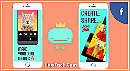 Whale Meme Creator App By Facebook Features Hindi Free Download