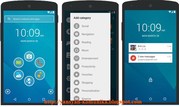 Screen Shoots Smart Launcher Pro 3