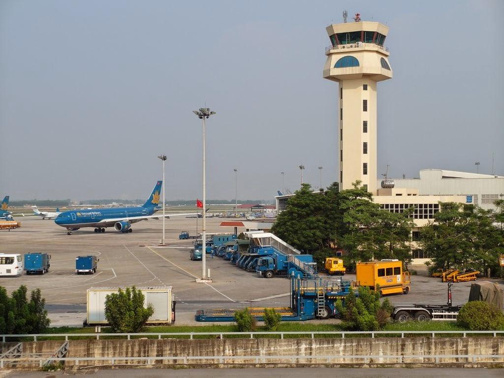 清清的世界旅行圖鑑: 越南河內 (Hà Nội) 內排機場 (Sân bay Quốc tế Nội Bài)