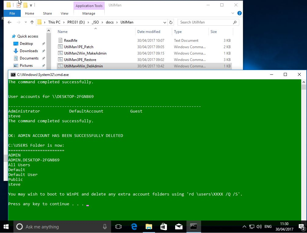 RMPrepUSB, Easy2Boot and USB booting: Hack any Windows OS