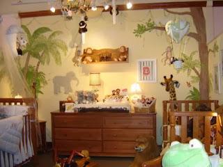 Habitación temática bebé