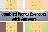 Jumbled Words Exercises with Answers