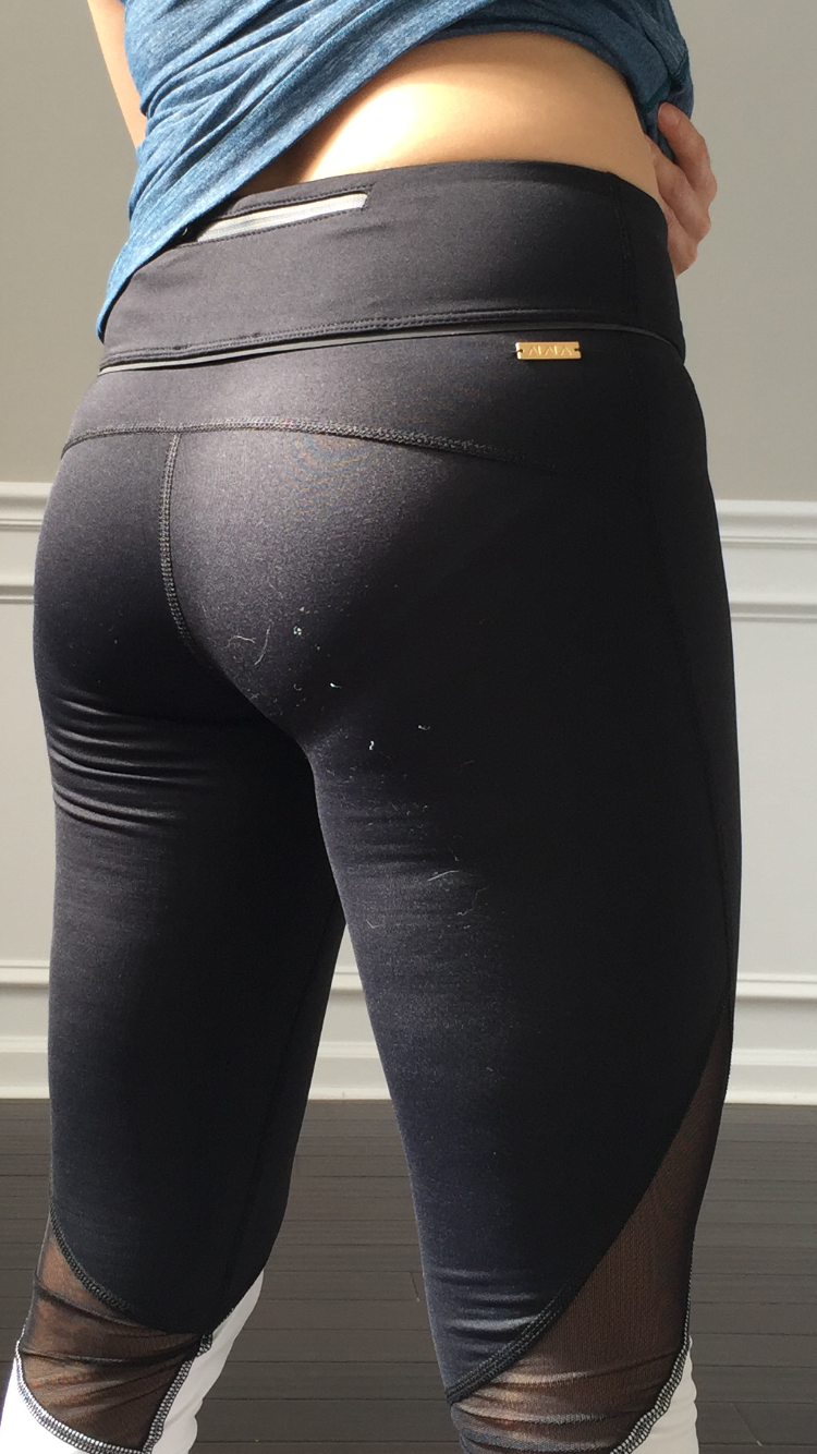 You Can Definitely See Color Underneath The Black When Im Squatting So Best To Wear Undies Or Nude If Youre Doing Any Kind Of In Public