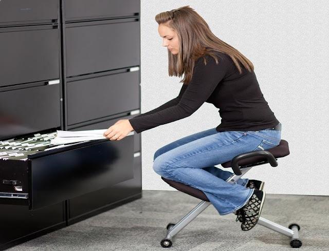 best ergonomic office chair kneeling posture
