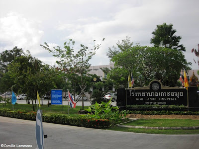 Government hospital in Nathon, Koh Samui, Thailand