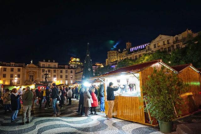 ロシオ広場 クリスマス市