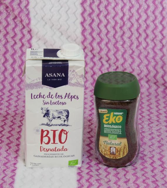 Leche Ecológica Desnatada Sin Lactosa Asana