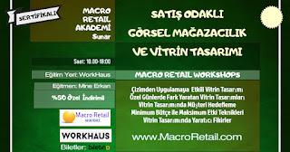 Vitrin VM Görsel Eğitimi Perakende Mağazacılık