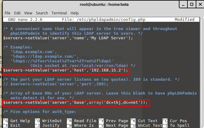 Melakukan Installasi OpenLDAP dan phpLDAPadmin di Ubuntu Server