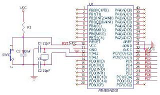 Rangkaian RTC DS 1307