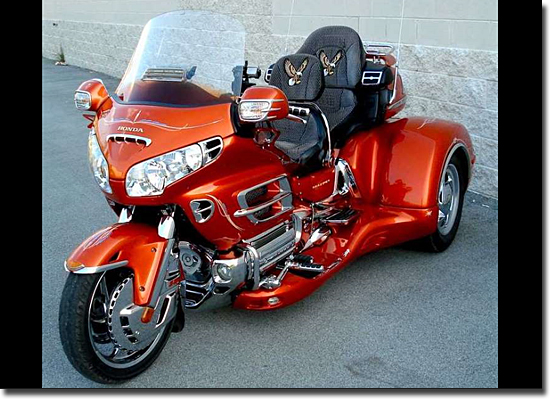 Motos mais bizarras do mundo - Honda Goldwing