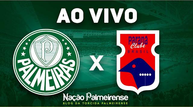 Assistir Paraná x Palmeiras Ao Vivo