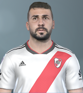 PES 2019 Faces Lucas Pratto by SeanFede
