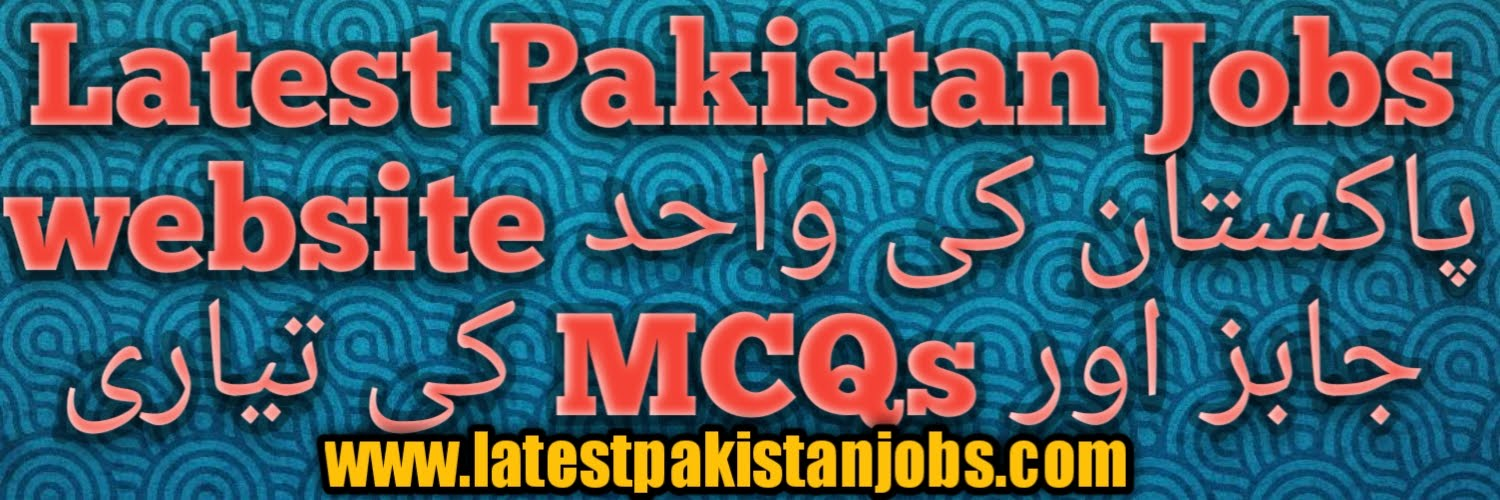 Latest Pakistan Jobs