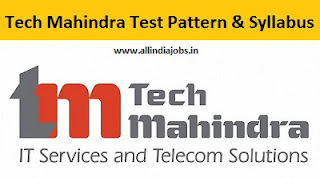 Tech Mahindra Test Pattern
