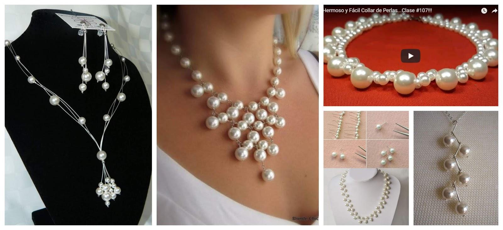 5491fb91d696 Aprende paso a paso cómo hacer un hermoso collar de perlas ~ lodijoella