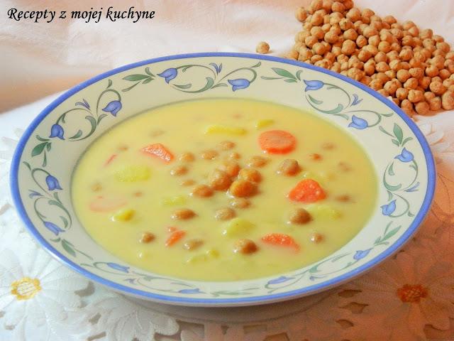 Krémová polievka z cíceru