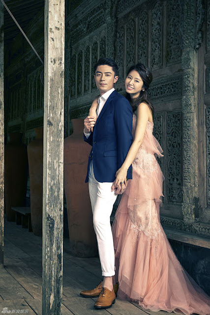 Ruby Lin Wallace Huo Bali wedding