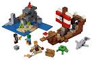 Minecraft The Pirate Ship Adventure Regular Set