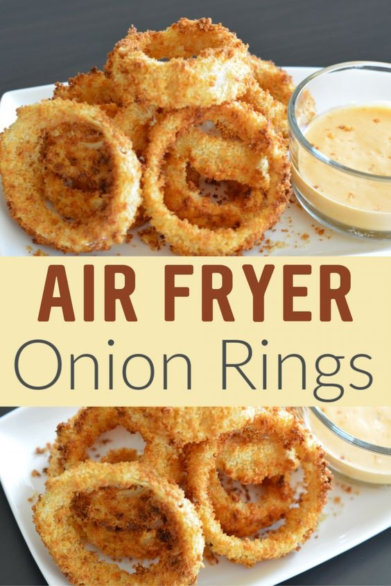 Air Fryer Onion Rings Recipe