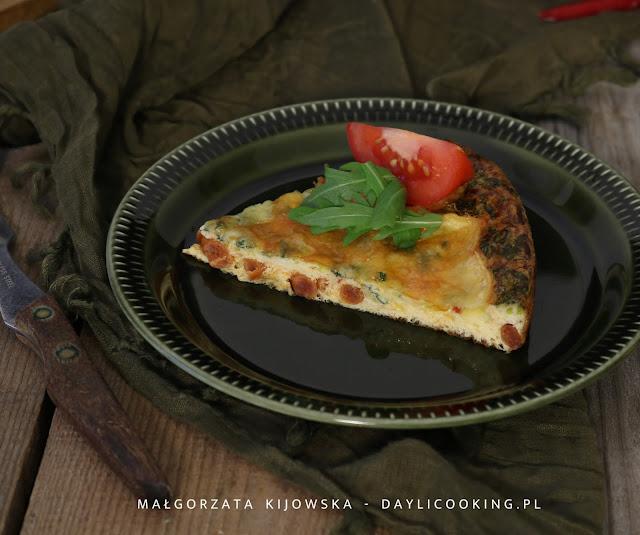 co to jest frittata?, jak się robi frittatę?, z czego się robi frittatę?, kolacja na ciepło, jajka, daylicooking