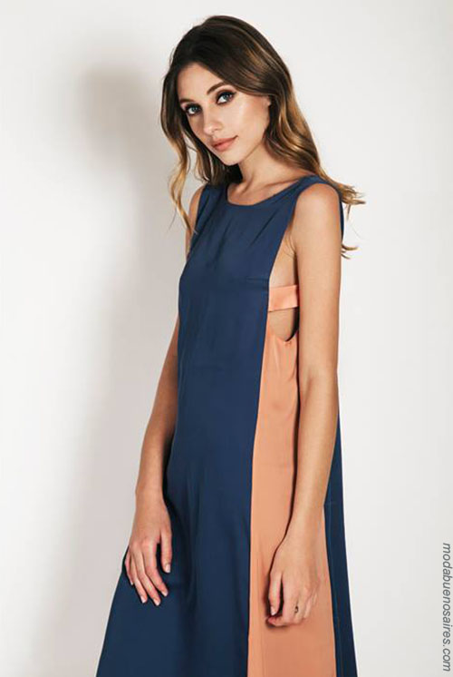 Moda vestidos de fiesta 2018. Moda verano 2018 vestidos largos.