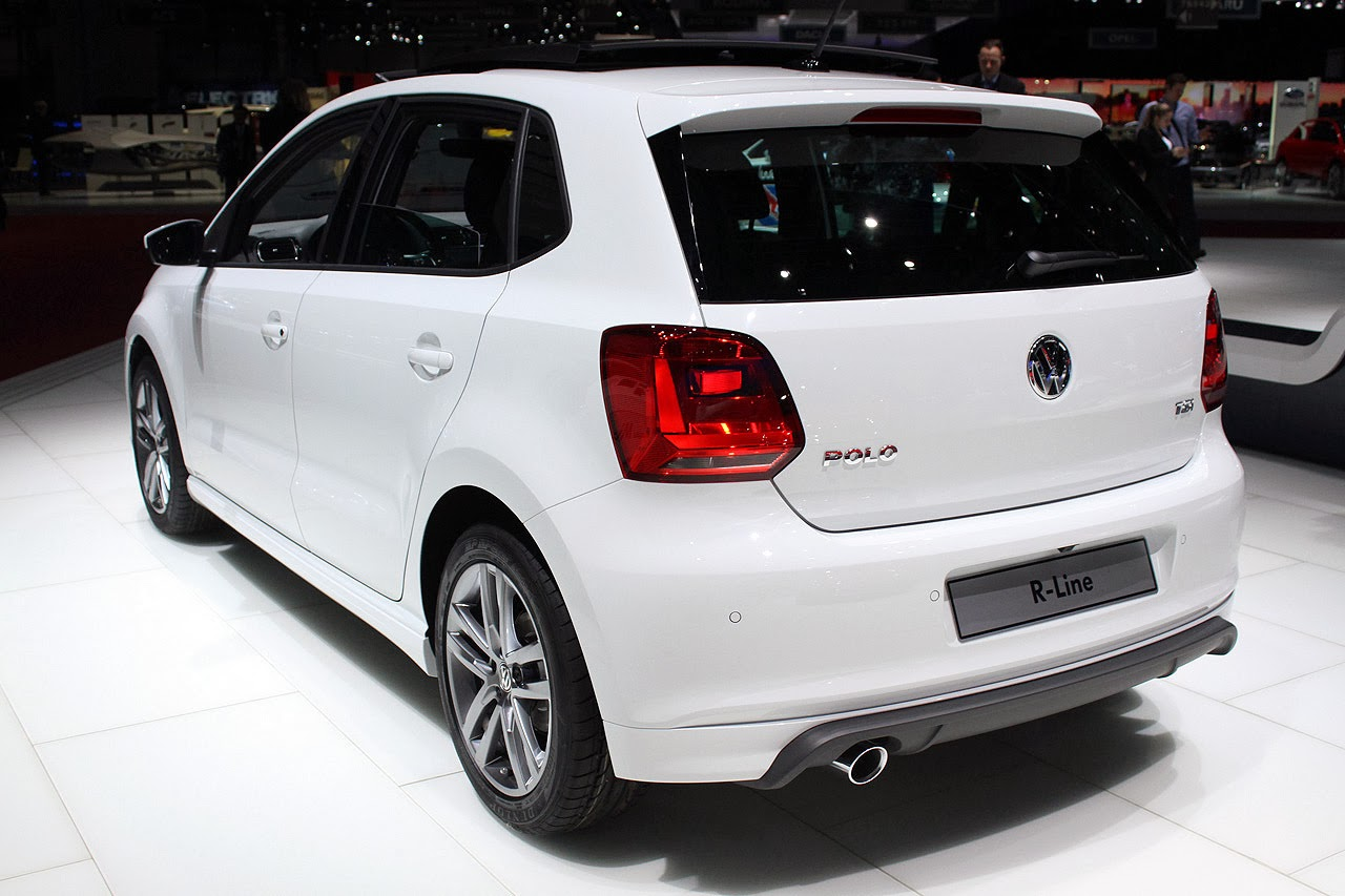 automotiveblogz volkswagen polo tsi r line geneva 2014. Black Bedroom Furniture Sets. Home Design Ideas