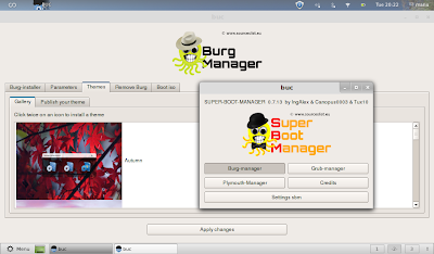 super boot manager for managing burg themes
