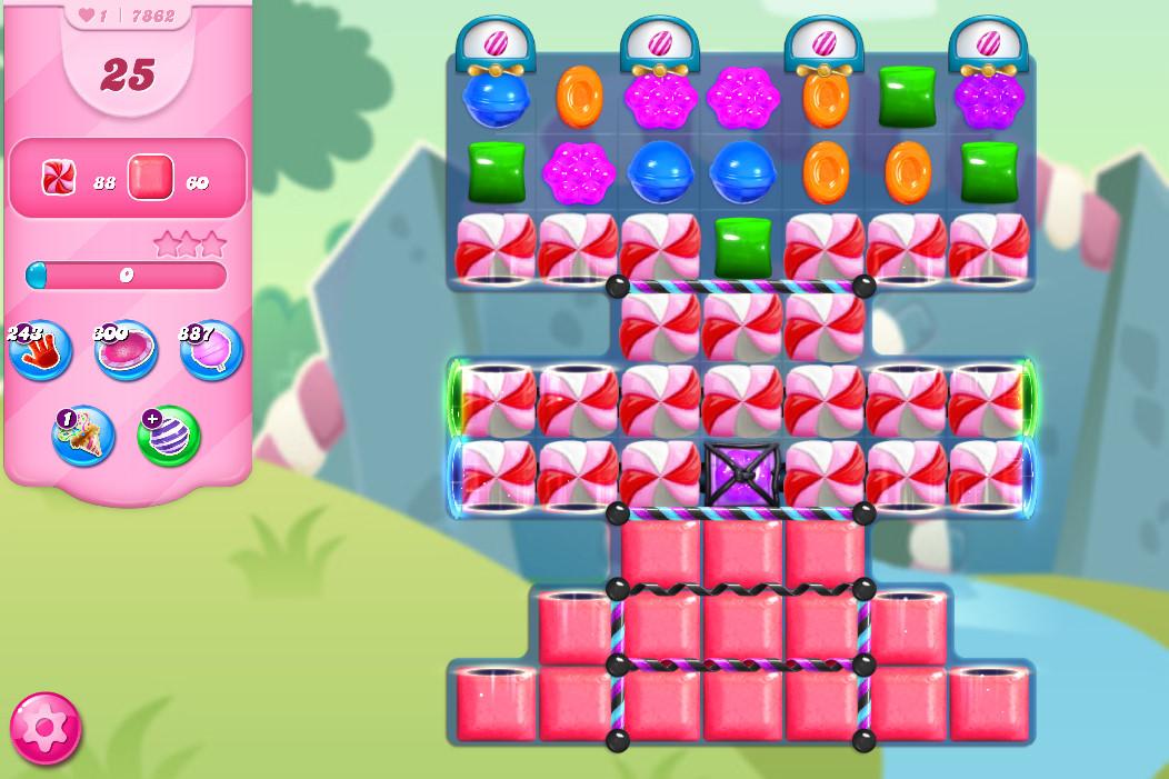 Candy Crush Saga level 7862