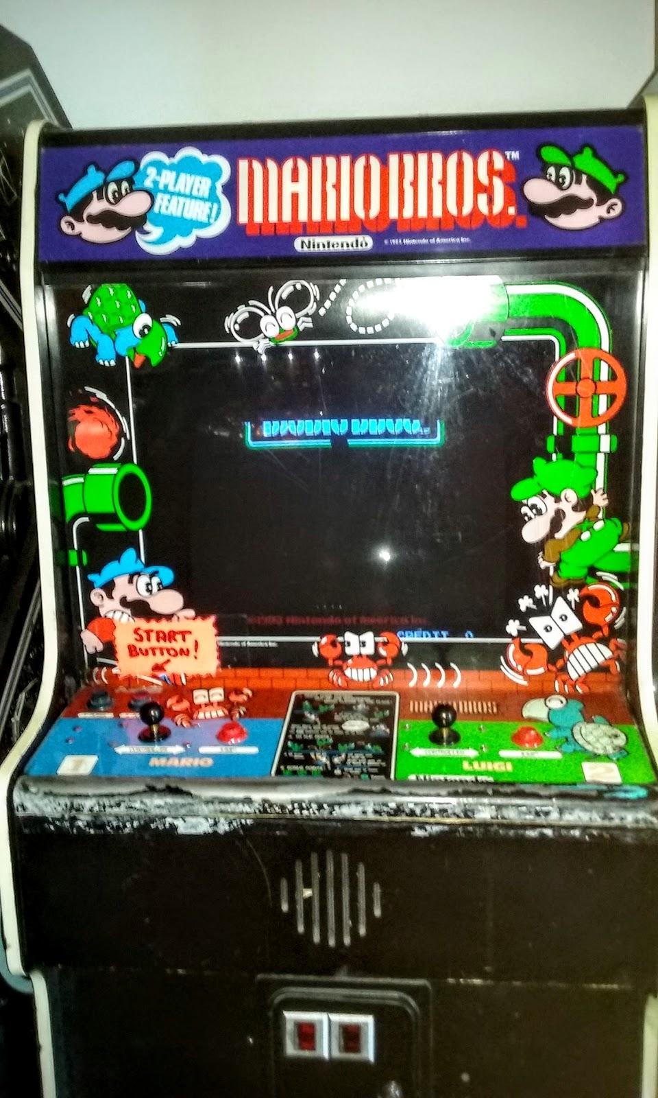 mario bros 1992 gottlieb nintendo pinball hall of fame las vegas