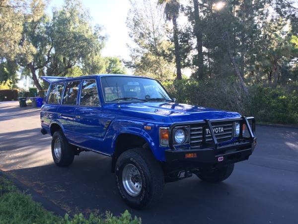 1985 Toyota Land Cruiser FJ60 For Sale