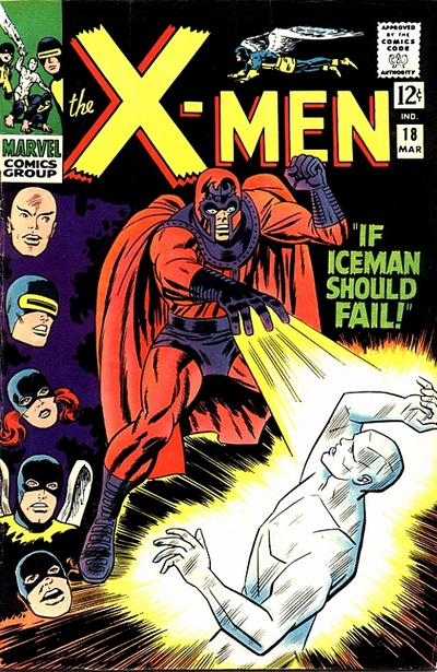 X-Men #18, Magneto
