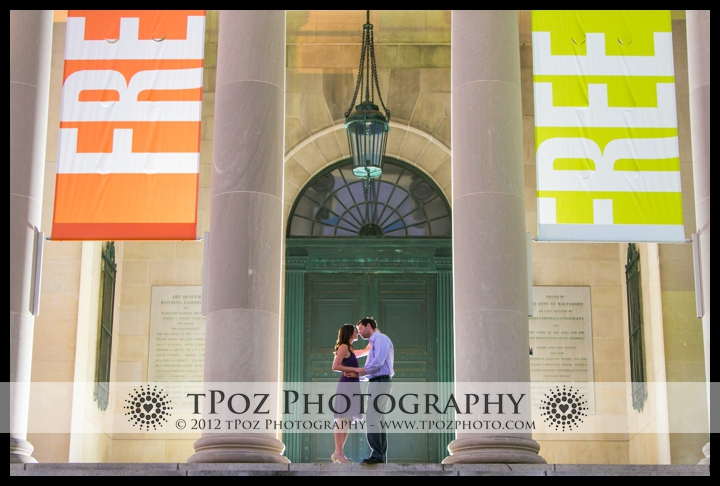 Baltimore Museum of Art Engagement Photos