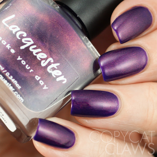 Lacquester Doomed Diva Swatch