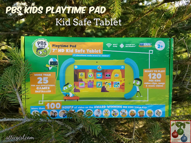 PBS Kids, PBS Kids programming, Holiday Gift Guide, gifts for kids, tablets for kids, tablets for preschoolers, tablets with parental controls