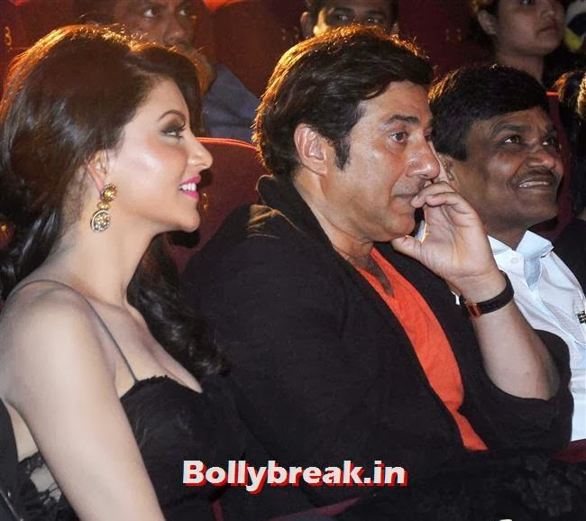 Urvashi Rautela and Sunny Deol, Singh Saab The Great Music Launch