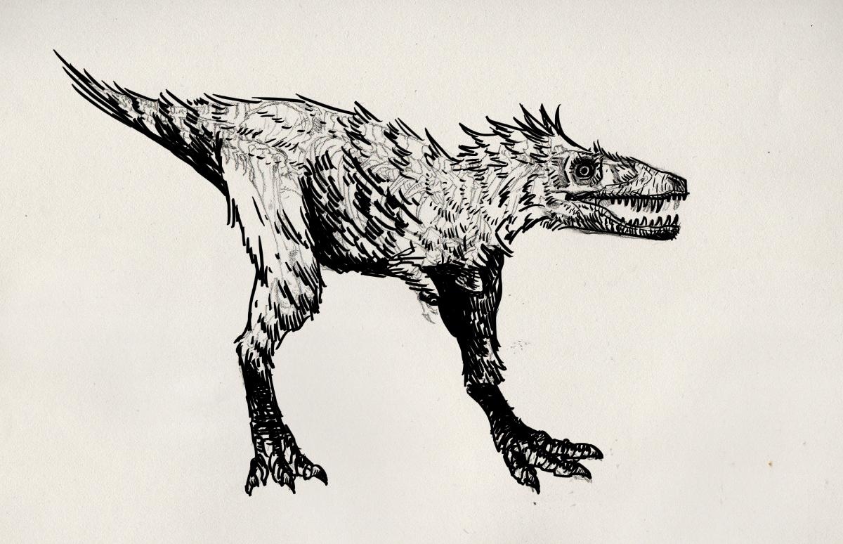 Matt Nava Baby T Rex Reconsctructions