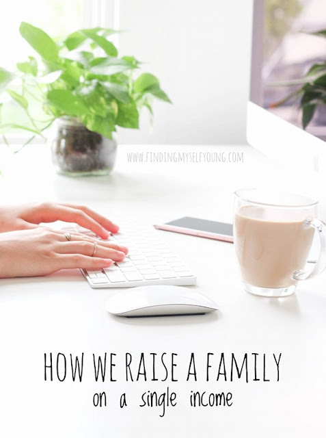 How to save money while raising a family with one income